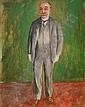 NILS DARDEL 1888-1943 Porträttstudie föreställande, Nils Dardel, Click for value