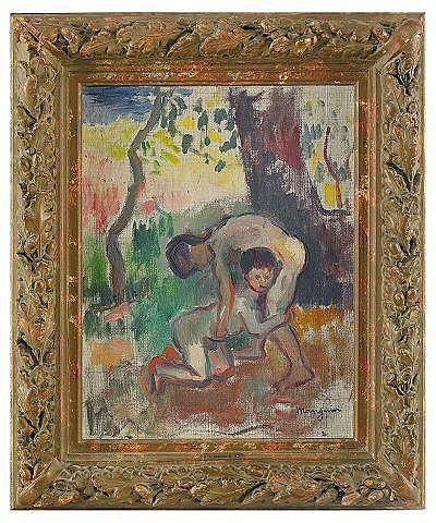 CHARLES HENRI MANGUIN Frankrike 1874-1949 Enfants