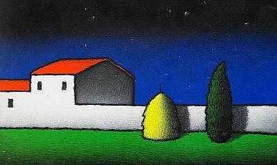 TINO STEFANONI Italien, född 1937 Komposition med