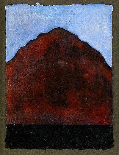 GIANFREDO CAMESI Schweiz, född 1940 Montagna I-VII