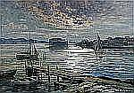 ANNA GARDELL ERICSON 1853-1939 Inloppet, Marstrand