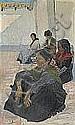 CARL WILHELMSON 1866-1928 Spanjorska på huk - gata, Carl Wilhelmson, Click for value