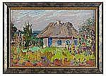 NICOLAS GLOUTCHENKO 1902-1977 House in a garden in