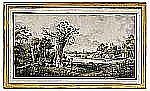 CARL JOHAN FAHLCRANTZ 1774-1861 Pastoralt landskap