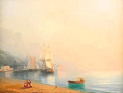 Ivan Konstantinovich Aivazovsky 1817-1900 Ships at