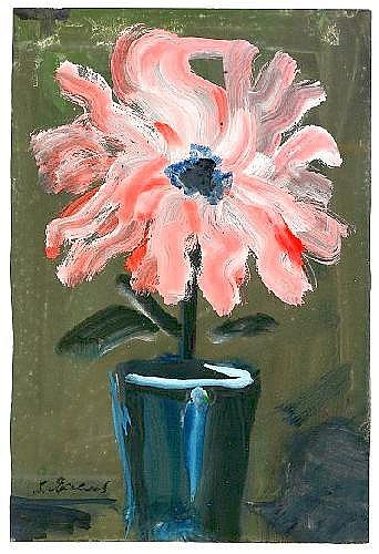 Vladimir Igorevich Yakovlev 1934-1998 Flower in