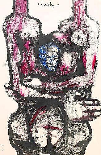 Ernst Isopovich Neizvestny born 1926 Composition
