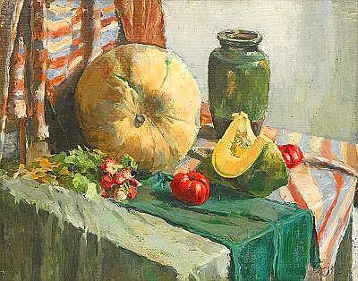 Osip Emanuelovich Braz 1873-1936 Still Life with a