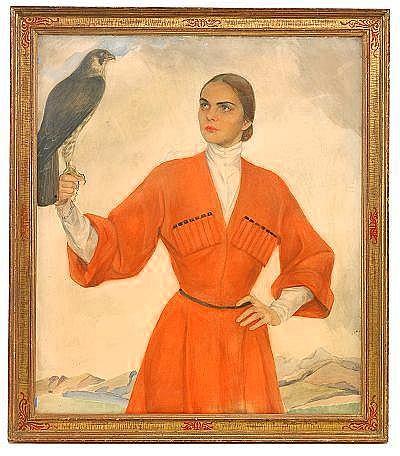 Savelii Abramovich Sorin 1887 - 1953 An Elegant