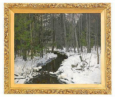 Stanislav Yulianovich Zhukovsky 1873-1944 Winter