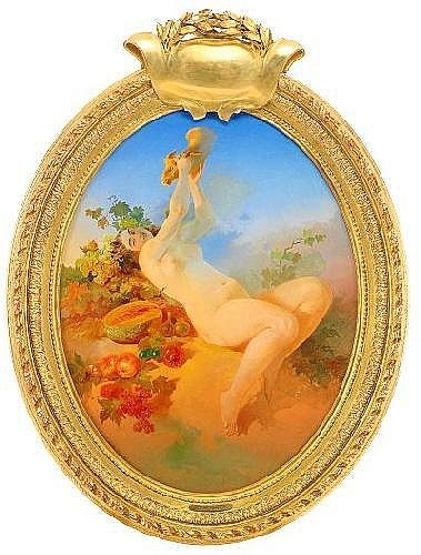 Count Mikhail Alexandrovich Zichy 1827-1906 Nude