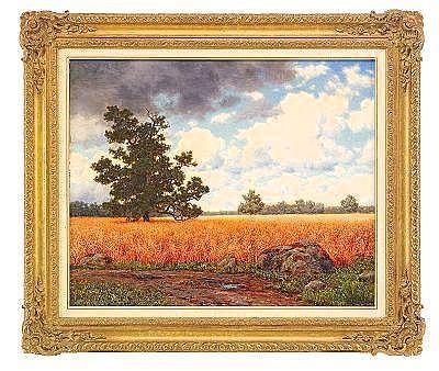 Ivan Fedorovich Choultse 1877-1932 Wheatfields