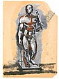 Solomon Benediktovich Nikritin 1898-1965 Study of, Solomon Borisovič Nikritin, Click for value