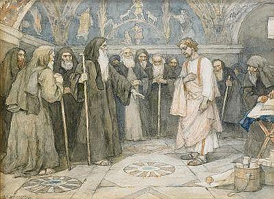 Vasili Ivanovich Surikov 1848-1916 The Confession