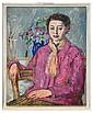 Nadezhda Andreevna Udaltsova 1886-1961 Portrait of, Nadezhda Andreevna Udaltsova, Click for value