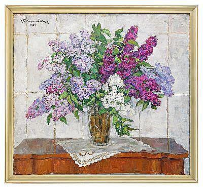 Piotr Petrovich Konchalovsky 1876-1956 Lilac in a