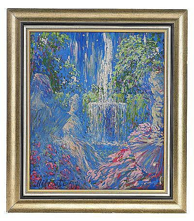 Nikolai Dimitrievich Milioti 1874-1962 Waterfall