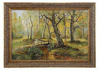 Karl Ioganovich Rosen 1864-1934 Autumn landscape