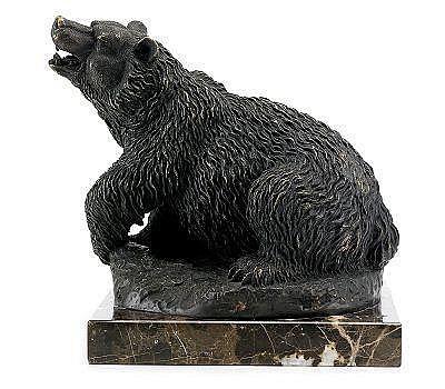 Artemy Lavrentievich Aubert 1843-1917 A Bear