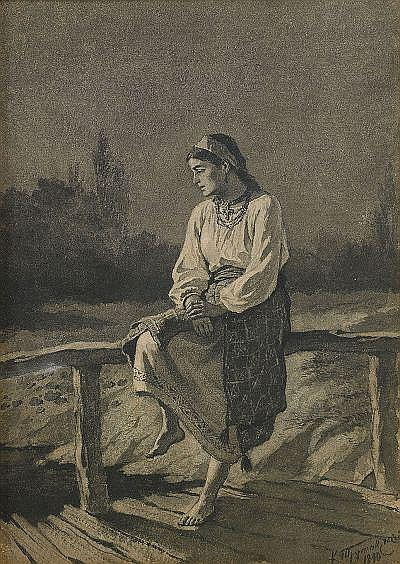 Konstantin Alexandrovich Trutovsky 1826-1893