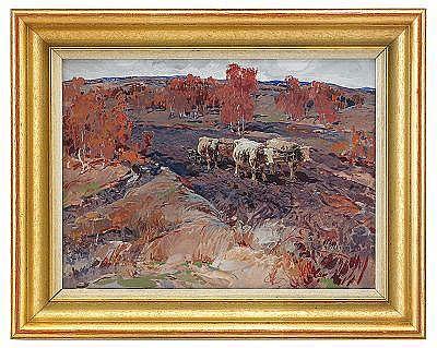 Sergei Mikhailovich Kolesnikov 1879-1955 Landscape