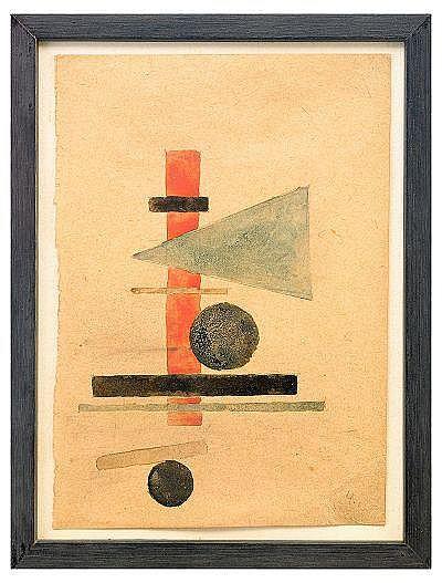 Ilya Grigorievich Chashnik 1902-1929 Suprematist