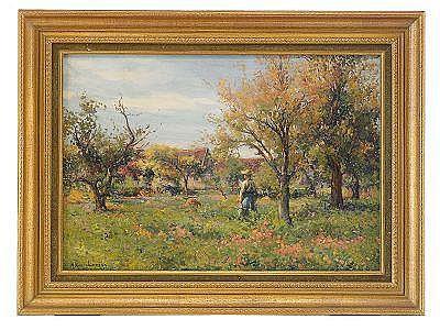 Mikhail Korochansky 1866-1925 Tending the Orchard