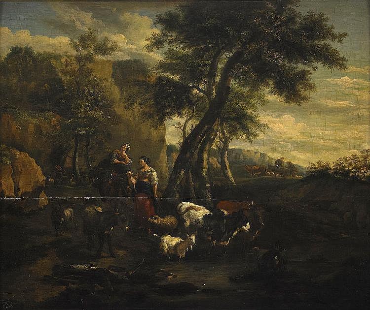 JAN FRANZ SOOLMAKER, Flandern 1635-1685