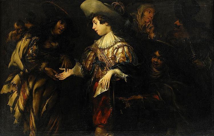 JAN COSSIERS, Antwerpen 1600-1671 Antwerpen