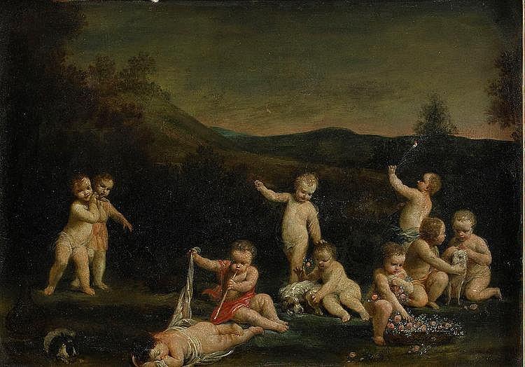GIUSEPPE MARIA CRESPI, 1665-1747, Pastoralt