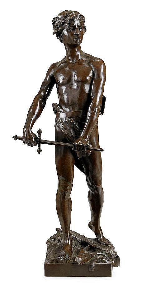 RAOUL LARCHE, Frankrike 1860-1912, David