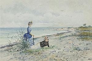 ANNA GARDELL ERICSON, 1853-1939, Rast vid