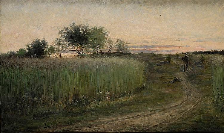HILMA AF KLINT, 1862-1944, Sommarlandskap