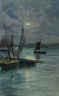 ANNA GARDELL-ERICSON, 1853-1939, Concarneau
