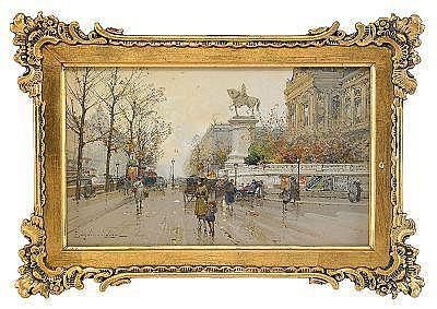 EUGÈNE GALIEN-LALOUE Frankrike 1854-1941 L´Hotel