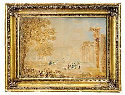 PETER BIRMANN Schweiz 1758-1844, tillskriven