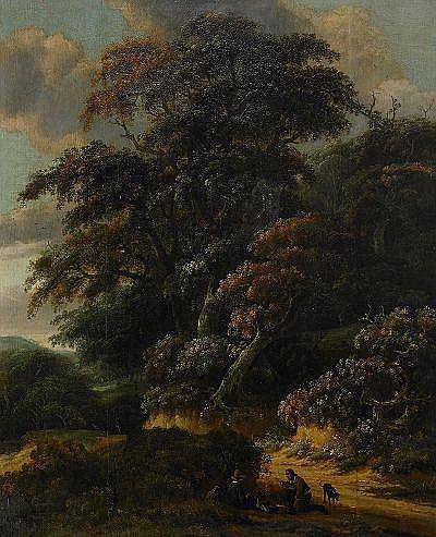 ROELOF VAN VRIES Holland 1631-1681, tillskriven