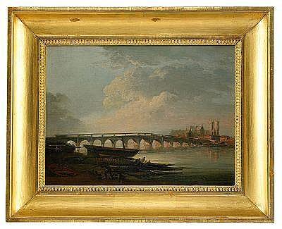 ELIAS MARTIN 1739-1818 Landskap med en flod