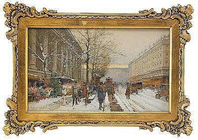 EUGÈNE GALIEN-LALOUE Frankrike 1854-1941 Le marché