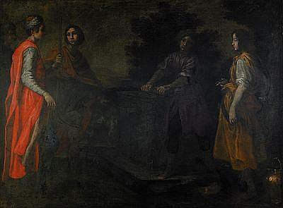 LORENZO LIPPI Florens 1606-1665 Rebecca vid