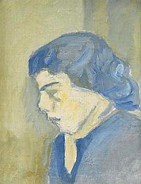 Ivan Aguéli, Blå flicka IVAN AGUÉLI 1869-1917 Blå