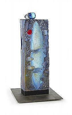 BERTIL VALLIEN, skulptur, Kosta 1994, sandgjuten,