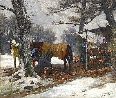 RICHARD ADAM BENNO Tyskland 1873-1937 Hos