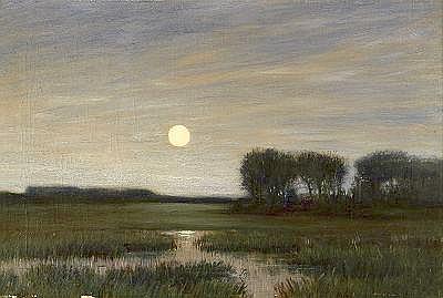HANS AM ENDE Tyskland, 1864-1918 Landskap i