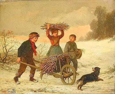 LOUIS LASSALLE Frankrike 1810-**** Vedsamlande