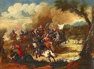 PANDOLFO RESCHI Italien 1643-1699, tillskriven