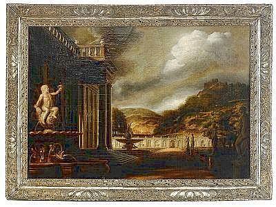FREDERIK DE MOUCHERON Frankrike 1633-1686,