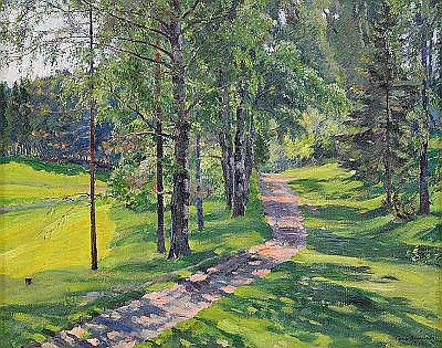 Sergei Arsenievich Vinogradov 1869-1938 The Road