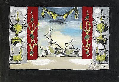 Dimitri Dimitrievich Bouchène 1893-1993 Set Design