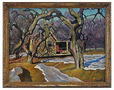 Evgeniy Andreievich Agafonov 1879-1956 Winter